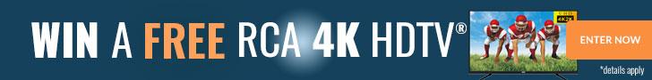 Win a RCA 4K TV