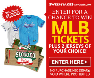 Win MLB Tickets and Jerseys