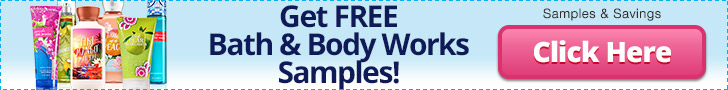 Free Bath & Body Works Samples