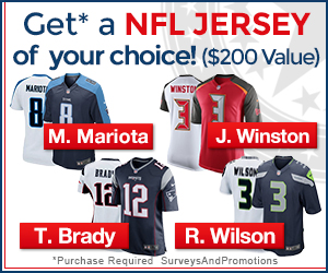NFL Jersey Offer