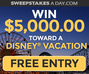 Win $5,000 for a Disney Vacation