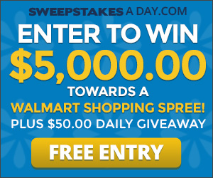 Win $5,000 for a Walmart Shopping Spree