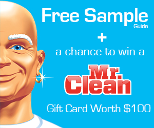 Mr Clean Free Sample Guide Offer