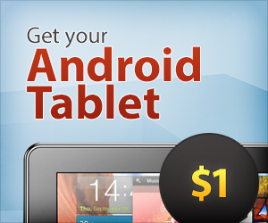 Get an Android Tablet for $1