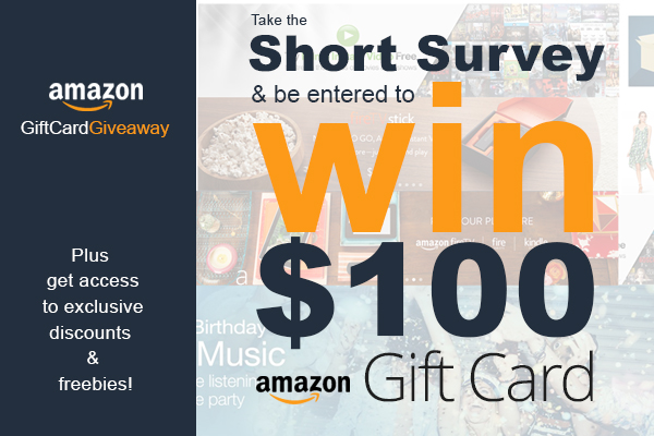 Win 100$ amazon gift card