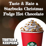 Free Starbucks Christmas Hot Chocolate
