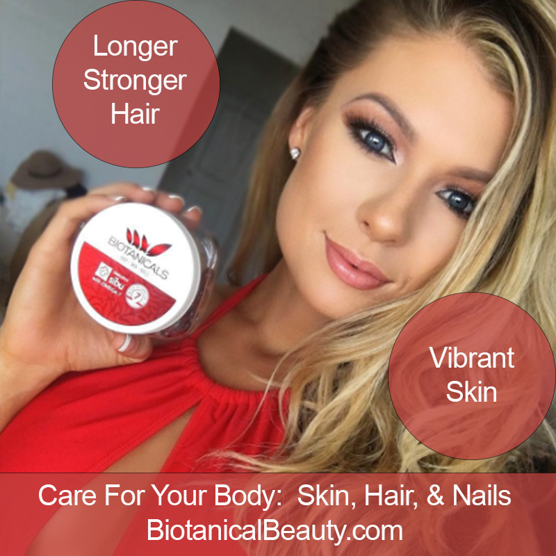 Beauty Care Natural Vitamins for Hair, Skin, and Nails