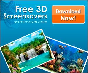 Free 3D screensavers