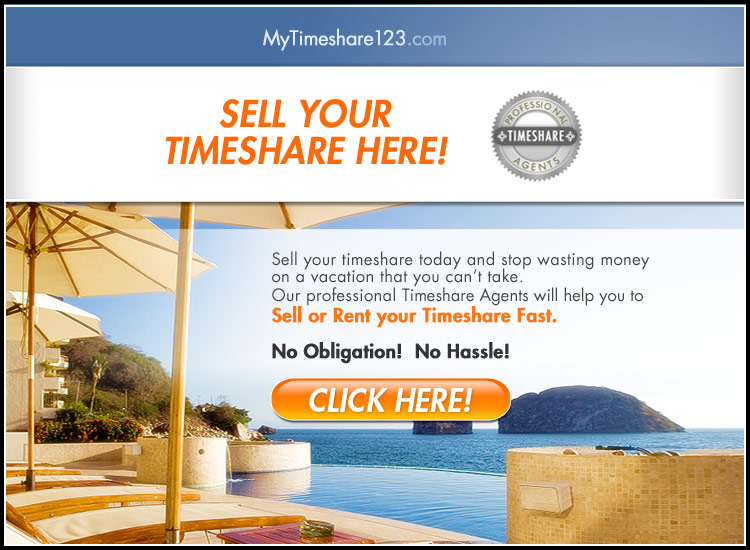 Sell your timeshare here and earn cash