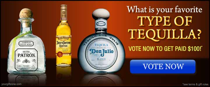What is your favorite type of Tequila?