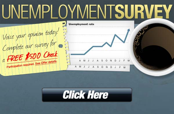 If you are Unemployment get 500$ check for short survey