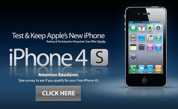 Test and Keep new iPhone 4S
