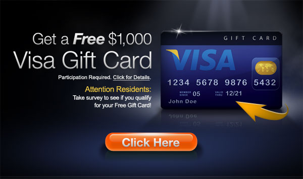 Win Visa gift card worth 1000$