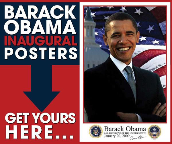Barack Obama Inaugural Posters