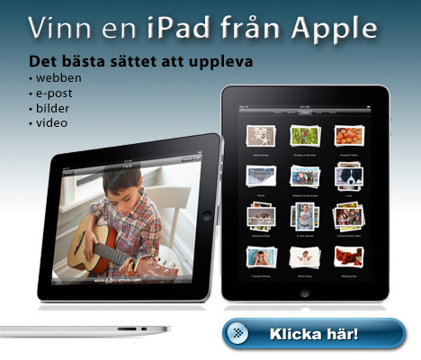 Sweden new Apple iPad