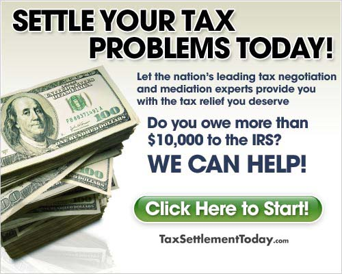 Settle your tax problems today