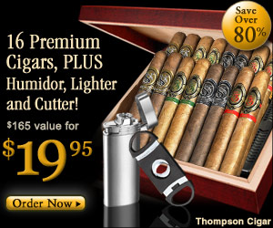 Fathers Day Gifts Tompson Cigar