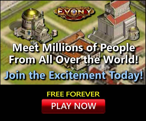 Evony International Game - Free to sign up