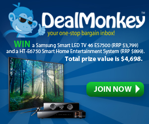 Dealmonkey - free deals and coupons