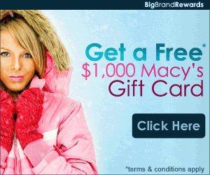 US free macy's gift card