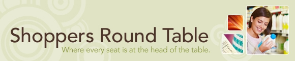 Shoppers round table - Get free milk products